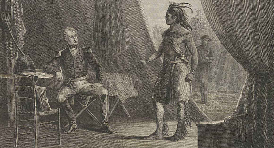 Andrew Jackson and indians, journal of wild culture