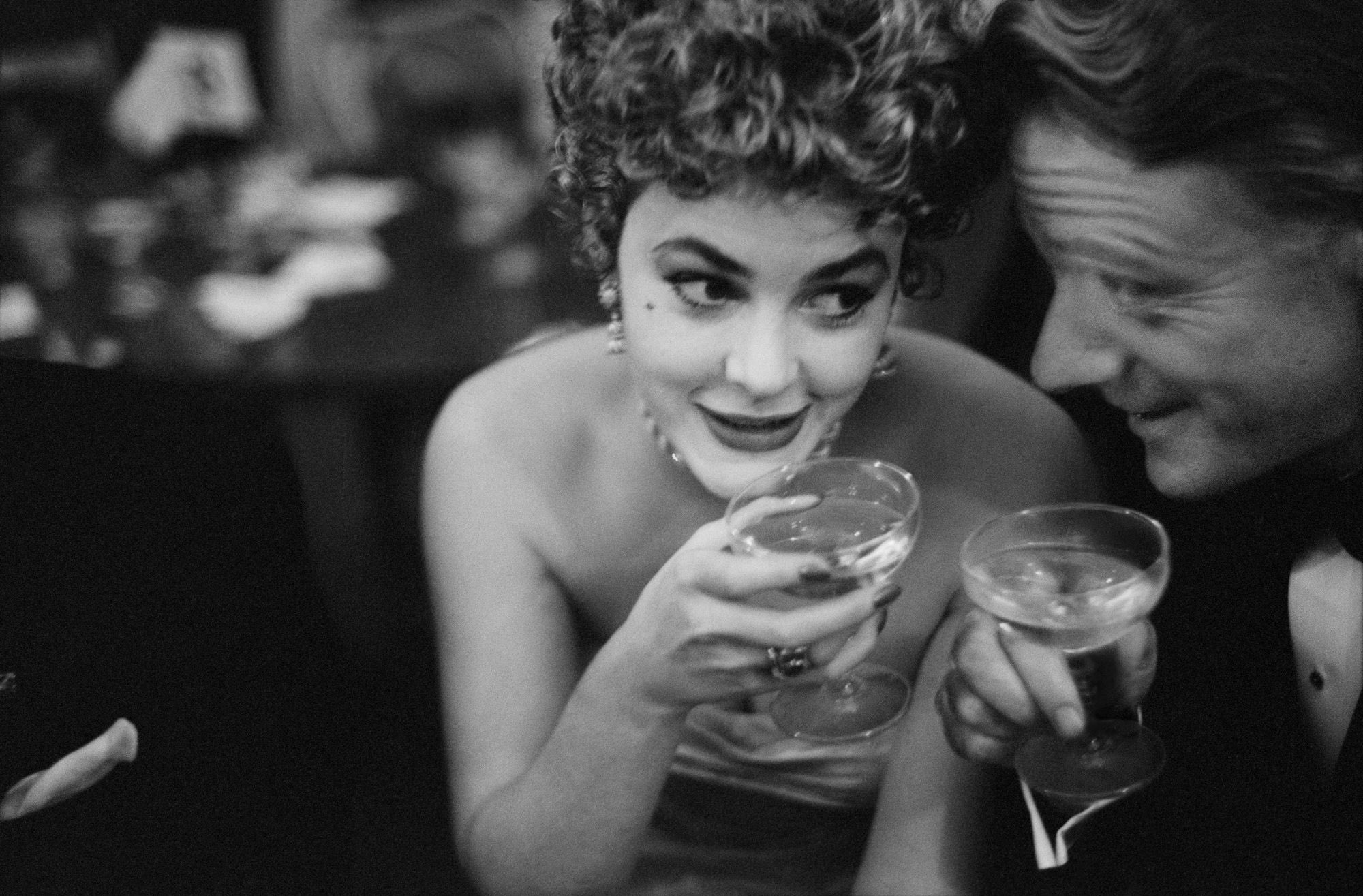 Gary Winogrand, two with cocktails, journal of wild culture