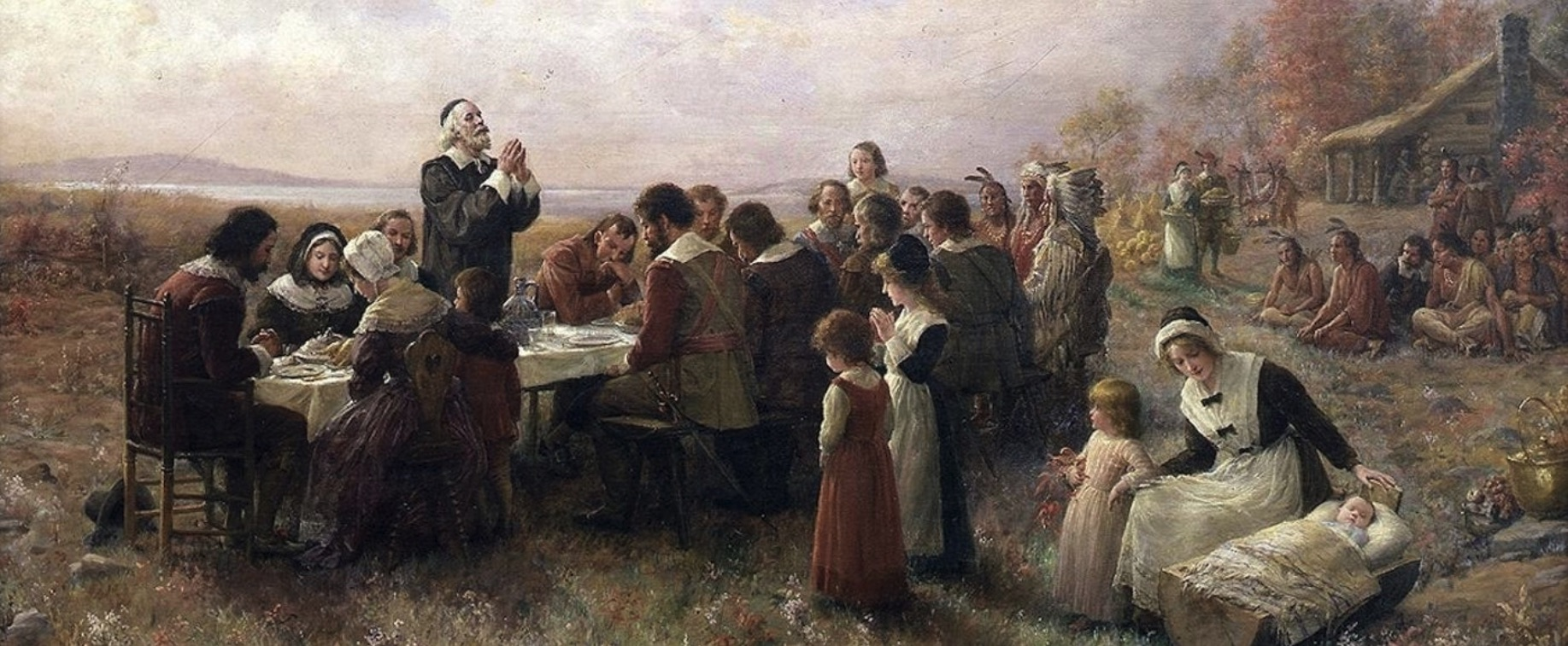'First Thanksgiving at Plymouth', journal of wild culture