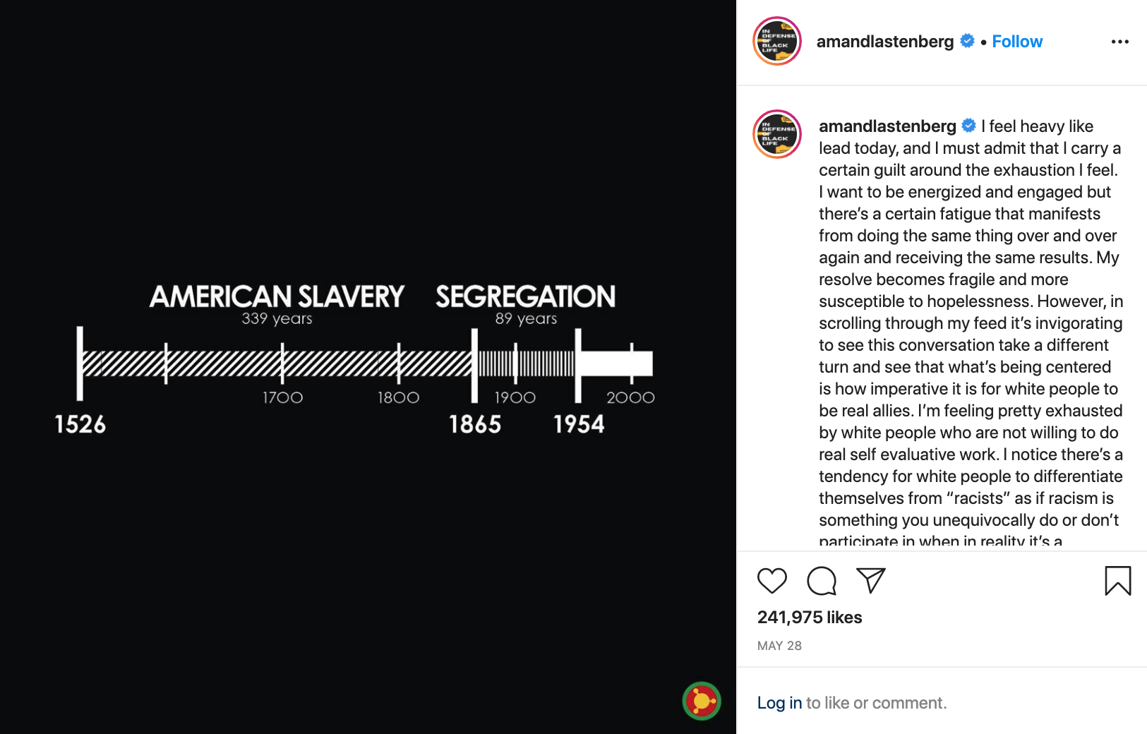 US racism timeline, journal of wild culture, ©2020