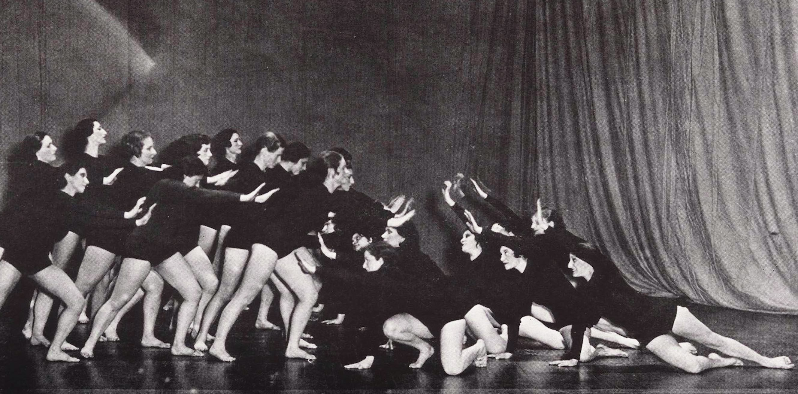 Bennington dance 1950s, journal of wild culture ©2020