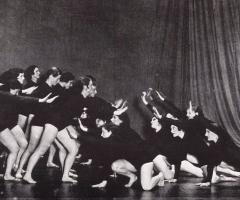 Bennington Dance 1950s, journal of wild culture ©2021