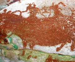 Cave painting, Wild Culture, ©2014, 'Sometimes a wild god'