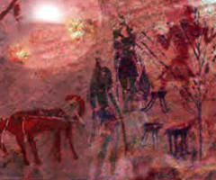 Cave painting, Wild Culture, journal of wild culture ©2020, 'Sometimes a wild god'