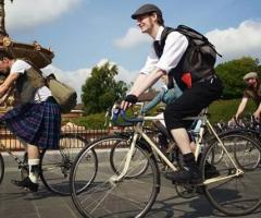 Harris Tweed Ride, Glasgow, 2013