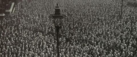 2 minute silence London 1918