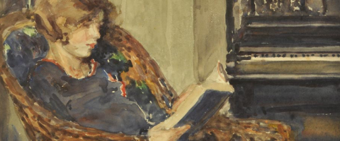 Girl reading, Wild Culture, ©2015