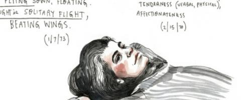 Susan Sontag thinking about love