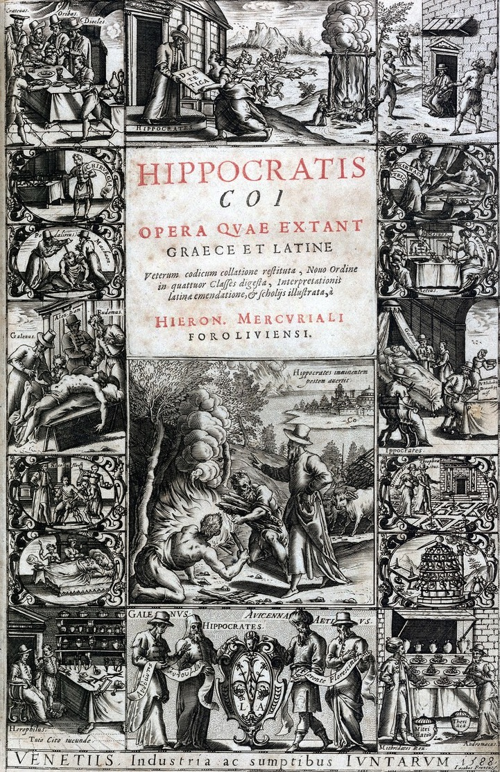 Hippocrates, Opera Quae Extant, journal of wild culture, ©2020