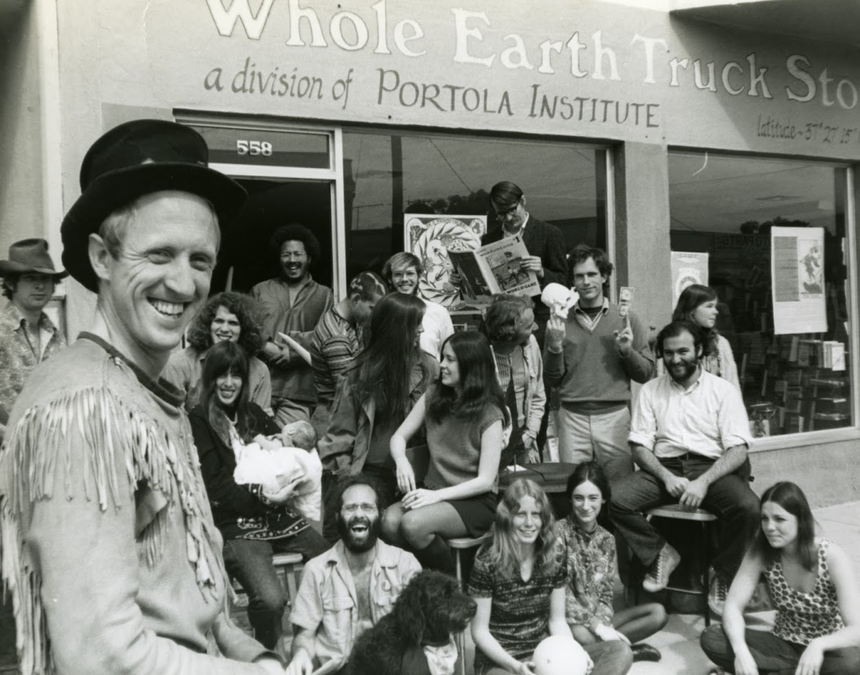 Stewart Brand & Whole Earth team, journal of wild culture, ©2020