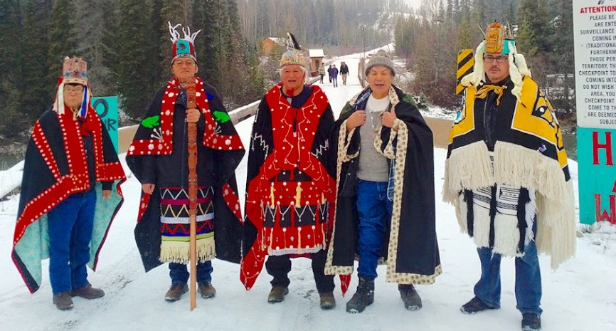 Wet'suwet'en Hereditary Chiefs, December 2018