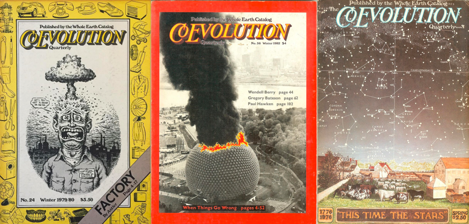 Co-Evolutionary Quarterly covers, journal of wild culture, ©2020