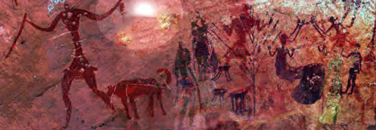 Cave painting, journal of wild culture, ©2020