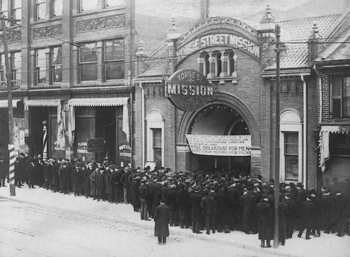 Yonge Steet Mission, 1930s, journal of wild culture ©2020