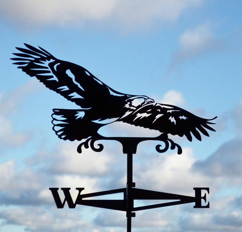 Eagle weather vane, journal of wild culture ©2020