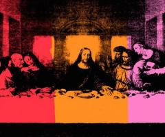 Andy Warhol's Last Supper, journal of wild culture, ©2018