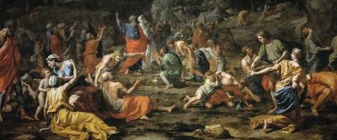 Poussin, Jews and mana
