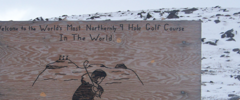 Arctic Golf, Wild Culture, ©2014, Tee Off at Midnight
