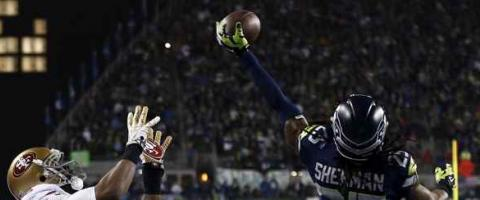 Richard Sherman deflection